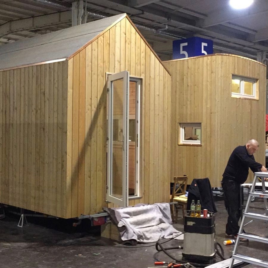 Tiny Houses auf Messe Reise + Camping in Essen 2017